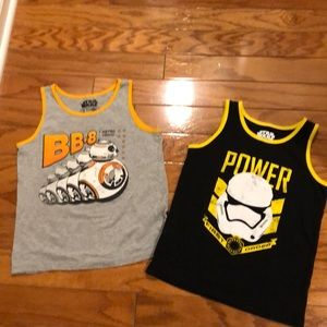 Star Wars tanks size 4 and 5